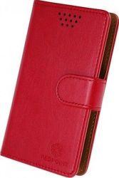 Redpoint univerzální flipové pouzdro 4XL, červené