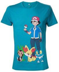 Pokémon Men M tyrkysové