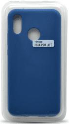 Mobilnet silikonové pouzdro pro Huawei P20 Lite, modrá