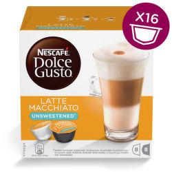 Nescafé Dolce Gusto Latte Macchiato neslazené (16ks)