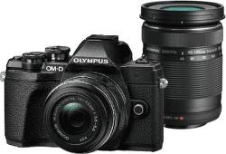 Olympus E-M10 Mark III DZ+M.Zuiko+14-42mm+40-150mm IIR černá