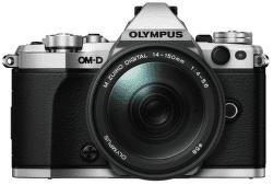 Olympus OM-D E-M5 Mark II stříbrná + M.ZUIKO Digital 14-150 mm f/4-5,6 II