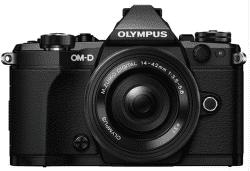 OLYMPUS OM-D E-M5 Mark II černá + M.ZUIKO Digital 14-42mm f/3,5-5,6