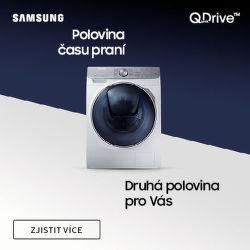 Zkraťte dobu praní s technologií Samsung Quick Drive