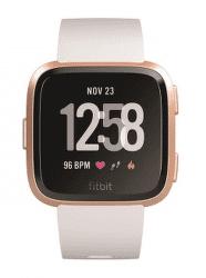 Fitbit Versa růžově zlaté s bílým řemínkem vystavený kus splnou zárukou