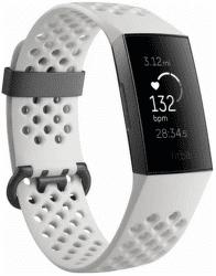 Fitbit Charge 3 Special Edition (NFC) černý s bílým řemínkem