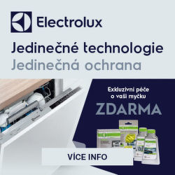 Exkluzivní péče zdarma k myčkám Electrolux