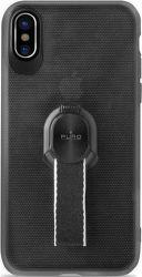 Puro Magnet Strap ochranné pouzdro pro Apple iPhone X, černá