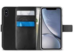 Puro Wallet knížkové pouzdro pro Apple iPhone Xr, černá