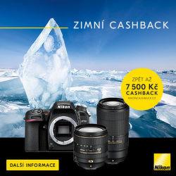 Zimní Nikon Cashback až 7 500 Kč