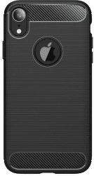 Winner Carbon pouzdro pro Apple iPhone Xr, černá