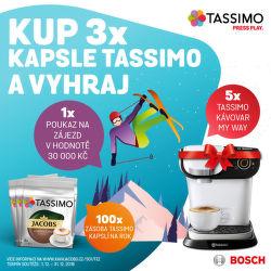 Soutěž o zájezd, kávovar nebo kávu Tassimo