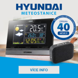 Dárek k meteostanicím Hyundai