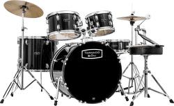 Mapex TND 5044 TCDK Tornado černá sada bicích 1. část vystavený kus s plnou zárukou