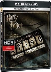 Harry Potter a Vězeň z Azkabanu - Blu-ray + 4K UHD film