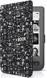 Connect IT Doodle pouzdro pro čtečku e-knih PocketBook 624/626 černé