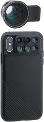 ShiftCam 2.0 Pro Lens + teleobjektiv Pro Lens pro iPhone X, černá