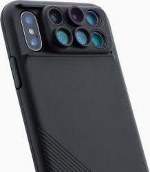 ShiftCam 2.0 6v1 cestovní set pro Apple iPhone X, černá