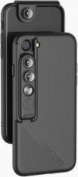 ShiftCam 2.0 3v1 cestovní set pro Apple iPhone 7/8, černá