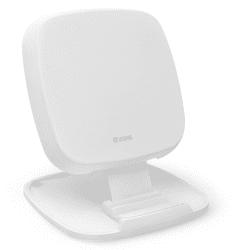 Zens Fast Charge stojánková bezdrátová nabíječka 10 W, bílá
