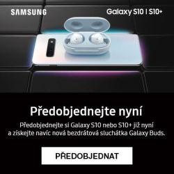 Dárek k předobjednávce Samsung Galaxy S10 a S10+