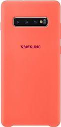 Samsung silikonové pouzdro pro Samsung Galaxy S10+, růžová