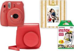 Fujifilm Instax Mini 9 Big Box červený