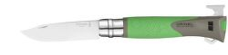 Opinel Explore Inox N°12 zelený multifunkční zavírací nůž