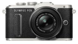 Olympus E-PL8 Mega Kit, černý