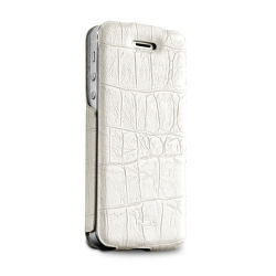 Puro flipový kryt pro iPhone (bílá)