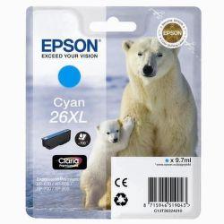 Epson T2632 26XL cyan (lední medvěd) - inkoustová náplň