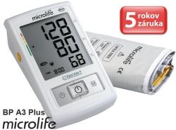 Microlife BP A3 Plus PC - automatický tlakoměr na rameno