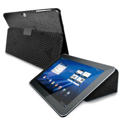 """PURO COVER + CASE GALAXY TAB 8,9 """"w / stand up ECO-LEATHER BLACK"""""""