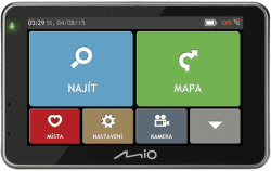 Mio combo 5207 Europe Truck Lifetime + 8GB micro SD karta vystavený kus s plnou zárukou