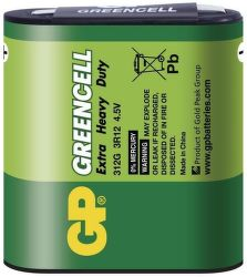 GP Greencell 3R12, 4,5V, 1 ks