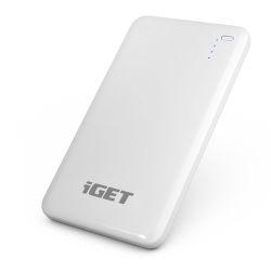 iGet B-8000 powerbanka 8000 mAh, bílá