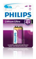 Philips Lithium Ultra 9V (6FR61), 1ks