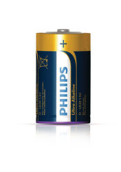 Philips Ultra Alkaline D (LR20), 2ks