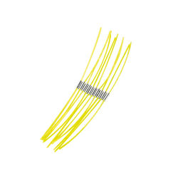 BOSCH Extra silná struna 23 cm (10 ks)