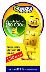 SAZKAmobil - předplacená SIM karta