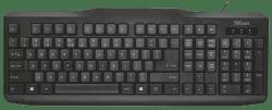 Trust 20638 ClassicLine Keyboard CZ/SK