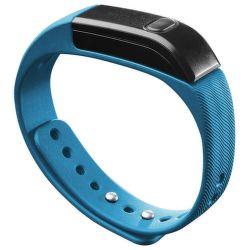 CellularLine BT fitness náramek modro černý