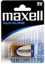 Maxell Alkaline 9V (6LR61), 1ks