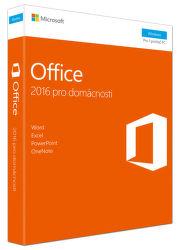 Microsoft Office 2016 pro domácnosti