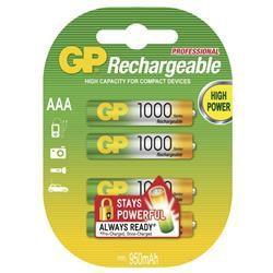 GP B14113 - AAA (HR03) 1000mAh, 4 ks