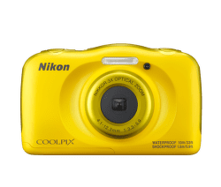 Nikon Coolpix W100 žlutý