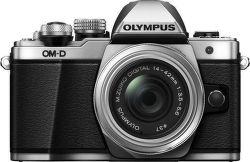 Olympus E-M10 Mark II + Pancake 14-42 EZ Kit (stříbrný)