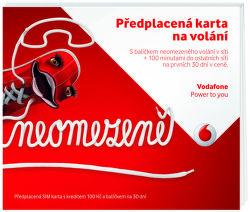 Vodafone SIM karta Volej