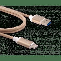 Innergie kabel USB-C a USB 3.0 (zlatá)