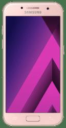 Samsung Galaxy A3 2017 broskvový